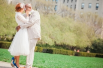 bride and groom inspiration photo at central park