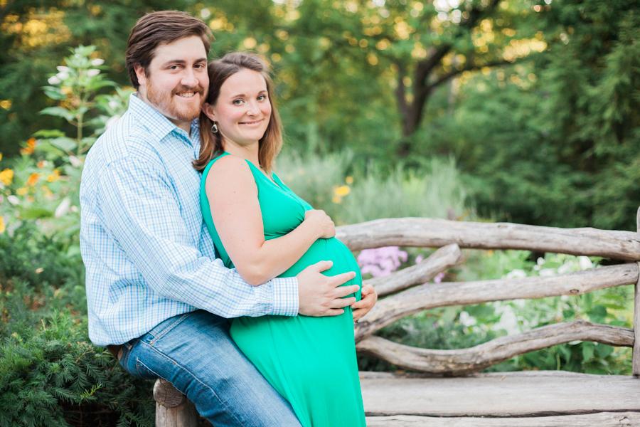 maternity photos central park