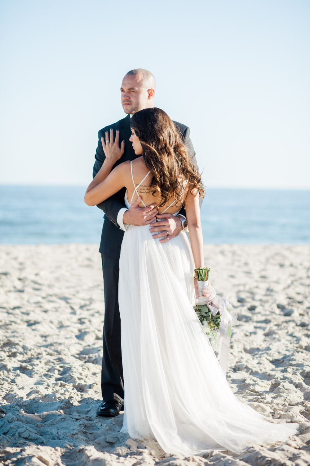 Cape May wedding on the beach