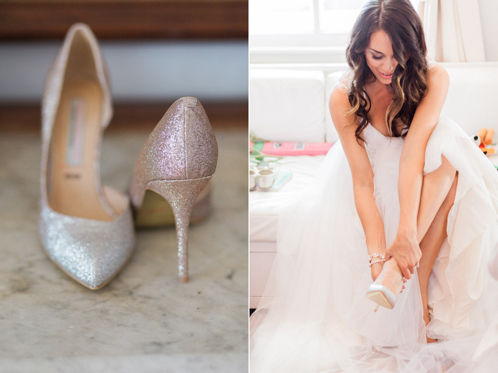 wedding details and getting ready