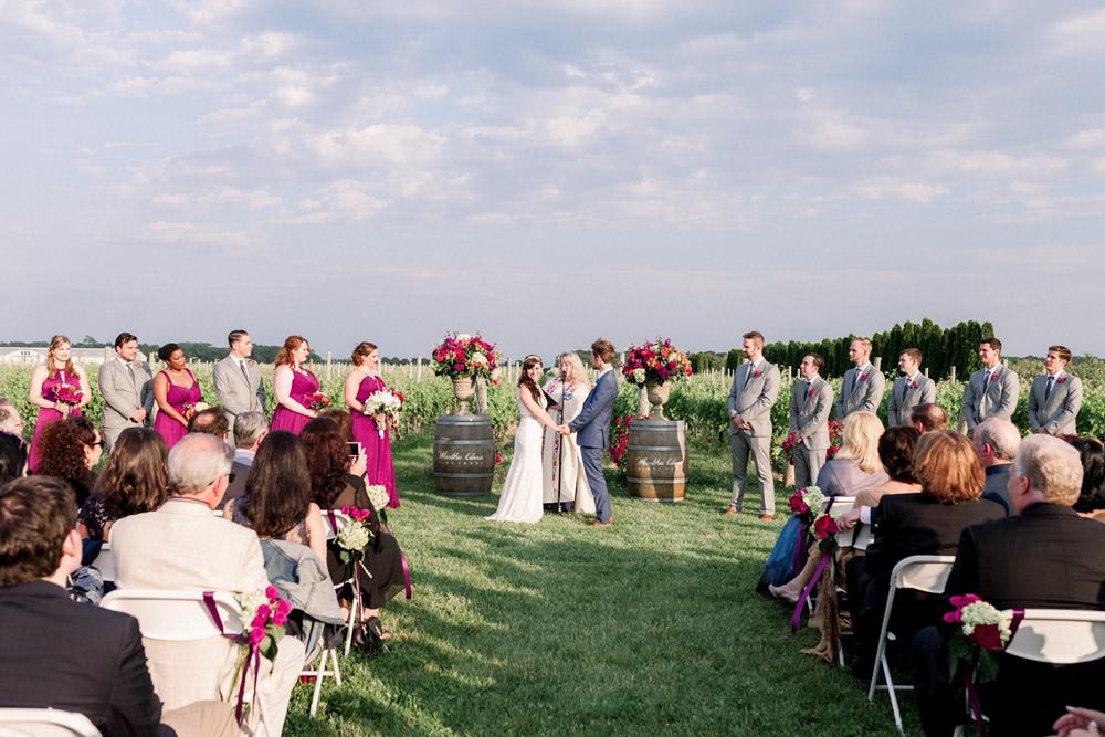Martha Clara Vineyard Wedding